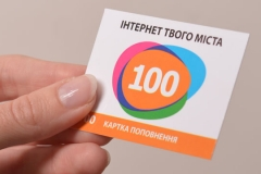 scratch-card replenishment account 70х50 мм